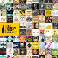 Ons etiket is genomineerd voor Het Knapste Etiket van 2017!